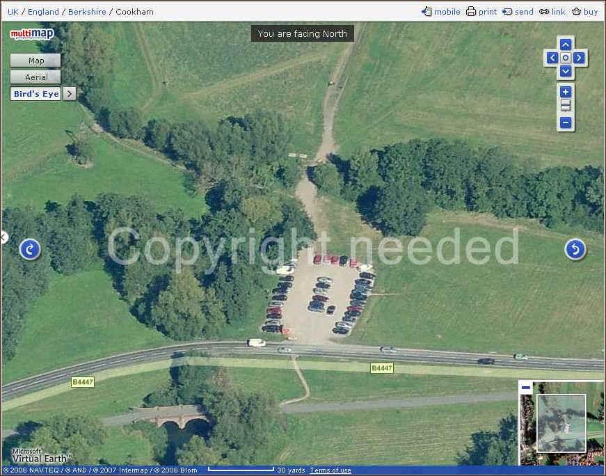 Cookham Moor Car Park